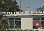 Image of Eglin Air Force Base Main Entrance Florida United States USA, 1968, second 1 stock footage video 65675042701
