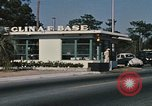 Image of Eglin Air Force Base Main Entrance Florida United States USA, 1968, second 10 stock footage video 65675042701