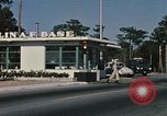 Image of Eglin Air Force Base Main Entrance Florida United States USA, 1968, second 15 stock footage video 65675042701
