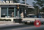 Image of Eglin Air Force Base Main Entrance Florida United States USA, 1968, second 25 stock footage video 65675042701