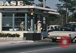 Image of Eglin Air Force Base Main Entrance Florida United States USA, 1968, second 26 stock footage video 65675042701