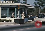 Image of Eglin Air Force Base Main Entrance Florida United States USA, 1968, second 27 stock footage video 65675042701