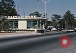 Image of Eglin Air Force Base Main Entrance Florida United States USA, 1968, second 47 stock footage video 65675042701
