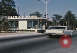 Image of Eglin Air Force Base Main Entrance Florida United States USA, 1968, second 49 stock footage video 65675042701