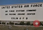 Image of Eglin Air Force Base Main Entrance Florida United States USA, 1968, second 50 stock footage video 65675042701