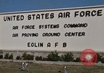 Image of Eglin Air Force Base Main Entrance Florida United States USA, 1968, second 51 stock footage video 65675042701