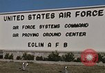 Image of Eglin Air Force Base Main Entrance Florida United States USA, 1968, second 52 stock footage video 65675042701