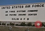 Image of Eglin Air Force Base Main Entrance Florida United States USA, 1968, second 53 stock footage video 65675042701