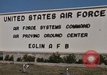 Image of Eglin Air Force Base Main Entrance Florida United States USA, 1968, second 54 stock footage video 65675042701