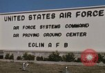 Image of Eglin Air Force Base Main Entrance Florida United States USA, 1968, second 55 stock footage video 65675042701