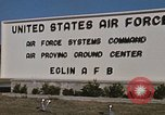Image of Eglin Air Force Base Main Entrance Florida United States USA, 1968, second 56 stock footage video 65675042701