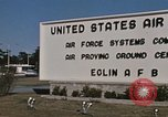 Image of Eglin Air Force Base Main Entrance Florida United States USA, 1968, second 58 stock footage video 65675042701