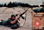 Image of RPD 7 62 mm Light Machine Gun Vietnam, 1968, second 17 stock footage video 65675042702