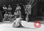 Image of Japanese sword dance Los Angeles California USA, 1930, second 29 stock footage video 65675042730