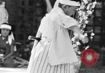 Image of Japanese sword dance Los Angeles California USA, 1930, second 34 stock footage video 65675042730