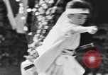Image of Japanese sword dance Los Angeles California USA, 1930, second 43 stock footage video 65675042730
