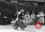 Image of Japanese sword dance Los Angeles California USA, 1930, second 50 stock footage video 65675042730