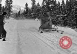 Image of air sled Colorado United States USA, 1933, second 24 stock footage video 65675042745