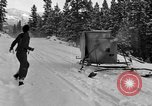 Image of air sled Colorado United States USA, 1933, second 25 stock footage video 65675042745
