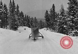 Image of air sled Colorado United States USA, 1933, second 44 stock footage video 65675042745