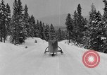 Image of air sled Colorado United States USA, 1933, second 45 stock footage video 65675042745