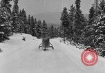 Image of air sled Colorado United States USA, 1933, second 47 stock footage video 65675042745
