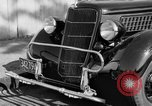 Image of bumper of a car Springfield Massachusetts USA, 1935, second 4 stock footage video 65675042766