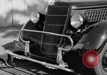 Image of bumper of a car Springfield Massachusetts USA, 1935, second 6 stock footage video 65675042766