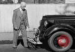 Image of bumper of a car Springfield Massachusetts USA, 1935, second 7 stock footage video 65675042766