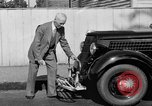 Image of bumper of a car Springfield Massachusetts USA, 1935, second 9 stock footage video 65675042766