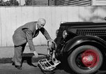 Image of bumper of a car Springfield Massachusetts USA, 1935, second 15 stock footage video 65675042766