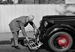 Image of bumper of a car Springfield Massachusetts USA, 1935, second 16 stock footage video 65675042766