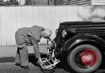 Image of bumper of a car Springfield Massachusetts USA, 1935, second 17 stock footage video 65675042766