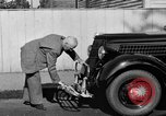 Image of bumper of a car Springfield Massachusetts USA, 1935, second 19 stock footage video 65675042766