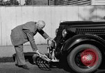 Image of bumper of a car Springfield Massachusetts USA, 1935, second 20 stock footage video 65675042766