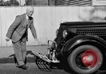 Image of bumper of a car Springfield Massachusetts USA, 1935, second 21 stock footage video 65675042766