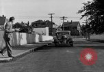 Image of bumper of a car Springfield Massachusetts USA, 1935, second 23 stock footage video 65675042766