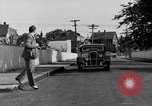 Image of bumper of a car Springfield Massachusetts USA, 1935, second 24 stock footage video 65675042766