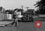 Image of bumper of a car Springfield Massachusetts USA, 1935, second 25 stock footage video 65675042766