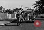 Image of bumper of a car Springfield Massachusetts USA, 1935, second 26 stock footage video 65675042766