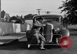 Image of bumper of a car Springfield Massachusetts USA, 1935, second 27 stock footage video 65675042766