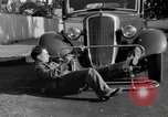 Image of bumper of a car Springfield Massachusetts USA, 1935, second 29 stock footage video 65675042766