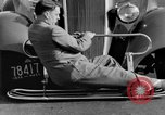Image of bumper of a car Springfield Massachusetts USA, 1935, second 30 stock footage video 65675042766
