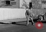 Image of bumper of a car Springfield Massachusetts USA, 1935, second 35 stock footage video 65675042766