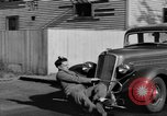Image of bumper of a car Springfield Massachusetts USA, 1935, second 37 stock footage video 65675042766