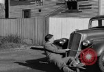 Image of bumper of a car Springfield Massachusetts USA, 1935, second 38 stock footage video 65675042766