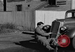 Image of bumper of a car Springfield Massachusetts USA, 1935, second 39 stock footage video 65675042766