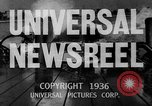 Image of Washington Husky crew boat race Seattle Washington USA, 1936, second 23 stock footage video 65675042771