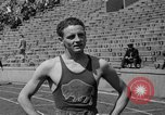 Image of Glenn Cunningham Lawrence Kansas USA, 1936, second 24 stock footage video 65675042777