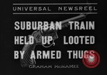 Image of suburban train Nutley New Jersey USA, 1936, second 1 stock footage video 65675042782